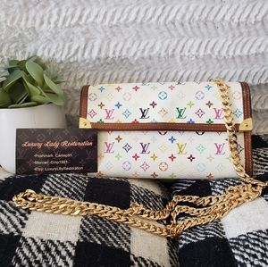 Authentic Louis Vuitton Takashi Murakami Crossbody